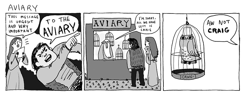 Aviary by Kate Beaton